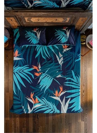 home-bath Çift Kişilik Nevresim Takımı Palm Renkli